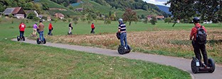 Vineyard tour with the Segway